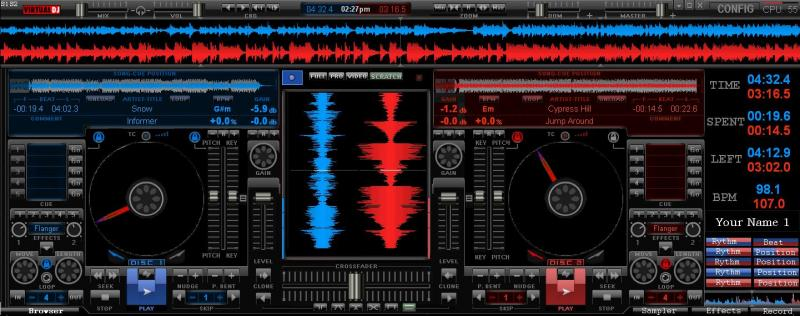 VIRTUAL DJ SOFTWARE - OverFlow Ex for vdj 6.0