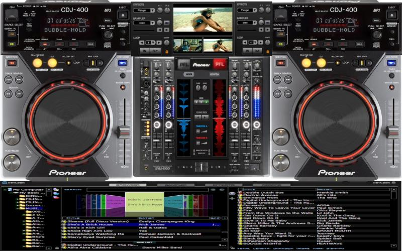 vdj pioneer skin free download