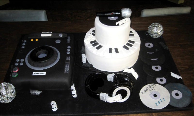 Birthday Cake For Disk Jockey