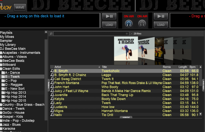 DJ Software - VirtualDJ - Help with a School Dance Set