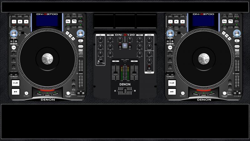 DJ Software - VirtualDJ - Denon DN-S3700 with DN-X120 (2 Deck) Virtual Dj Skins Denon