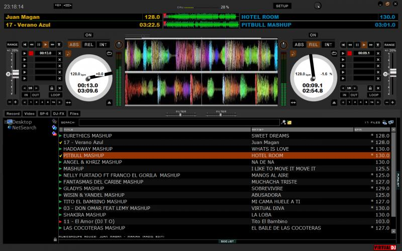 DJ Software - VirtualDJ - scratch live skin for vdj 7