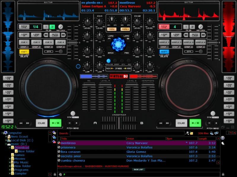 DJ Software - VirtualDJ - Total Mix