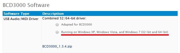 behringer bcd3000 drivers windows 10