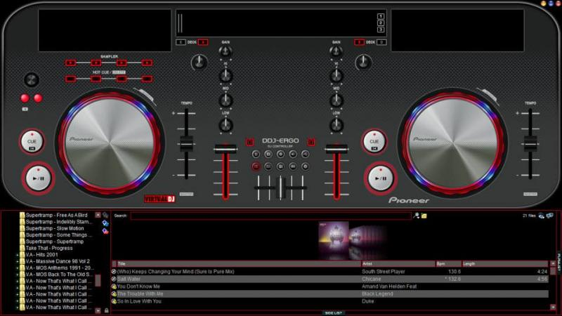 TÉLÉCHARGER VIRTUAL DJ POUR PIONEER DDJ ERGO GRATUIT