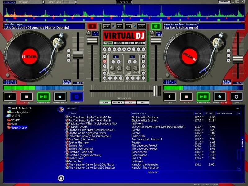 Virtual dj software hilfe probleme mit hercules dj - Table de mixage hercules dj control mp3 e2 ...