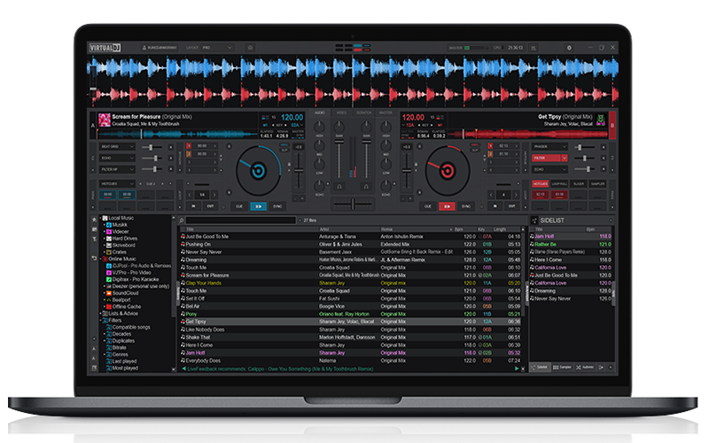 virtual dj sampler effects mp3 free download