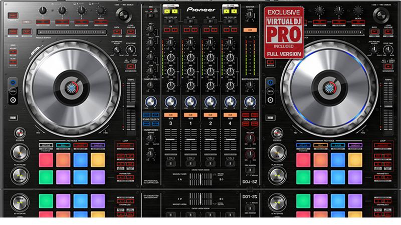 Denon dj mcx8000 setup with virtual dj 8 professional.